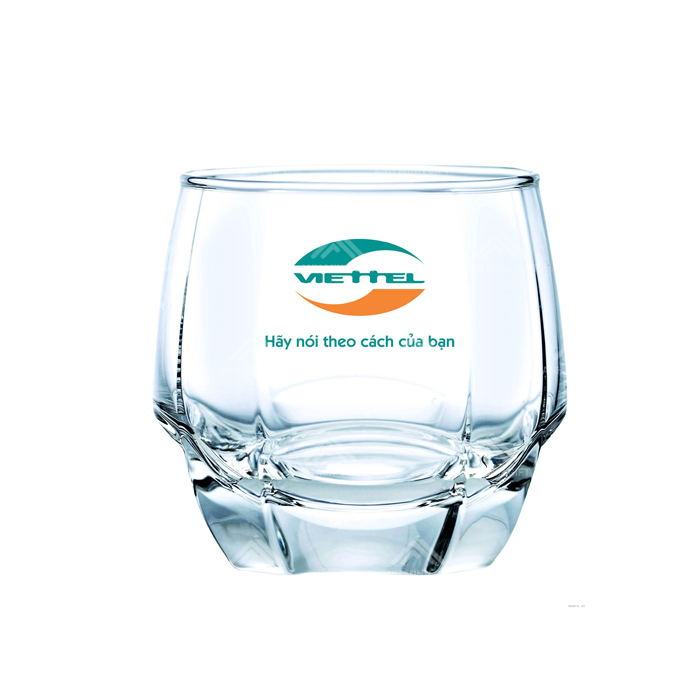Ocean Glass with Logo Printed